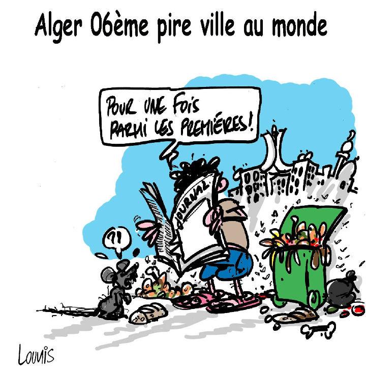 Alger 06ème pire ville au monde