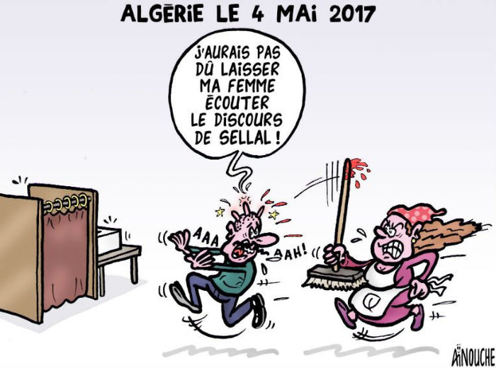 Algérie le 4 mai 2017