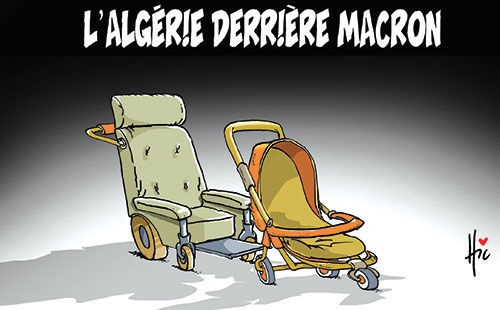 L'Algérie derrière Macron