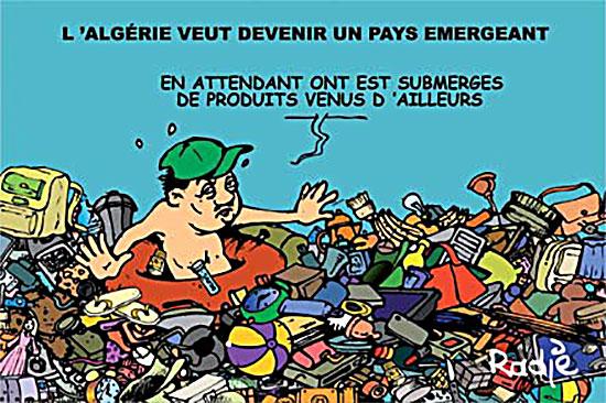L'Algérie veut devenir un pays émergeant