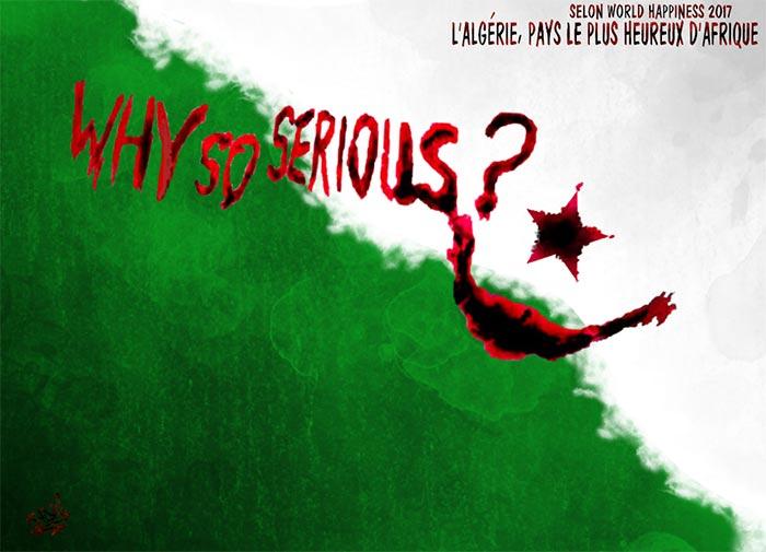 Selon World Happiness 2017: L'Algérie
