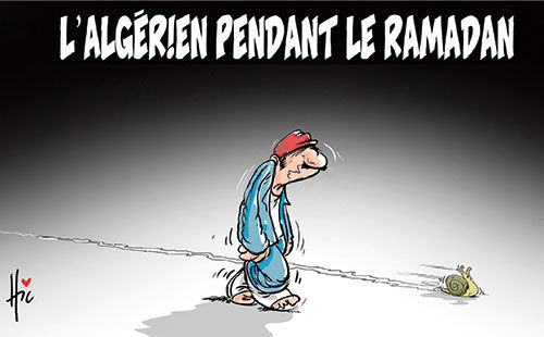 L'algérien pendant le ramadan