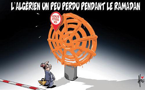 L'algérien un peu perdu pendant le ramadan