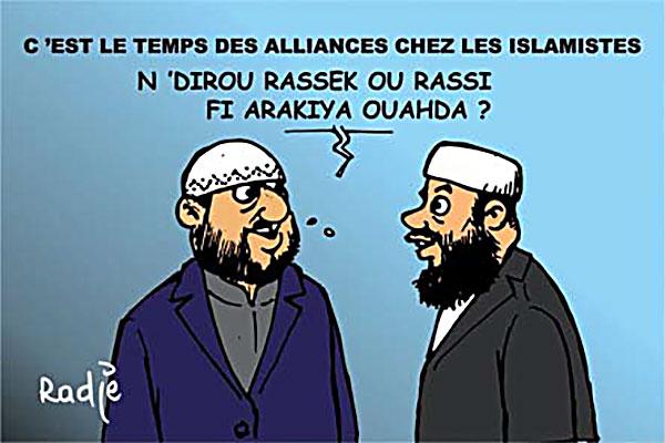 C'est le temps des alliances chez les islamistes