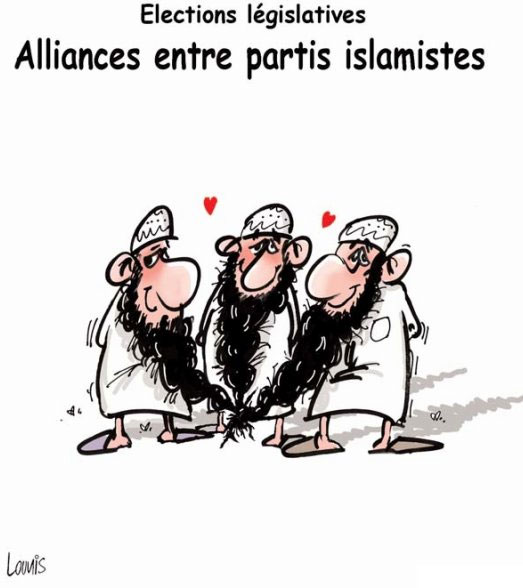 Elections législatives: Alliances entre partis islamistes