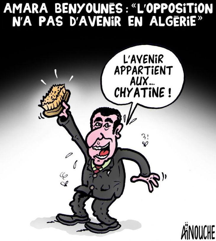 """Amara Benyounes: """"L'opposition n'a pas d'avenir en Algérie"""""""
