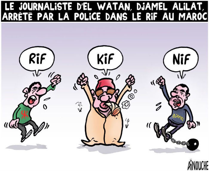 Le journaliste d'El Watan