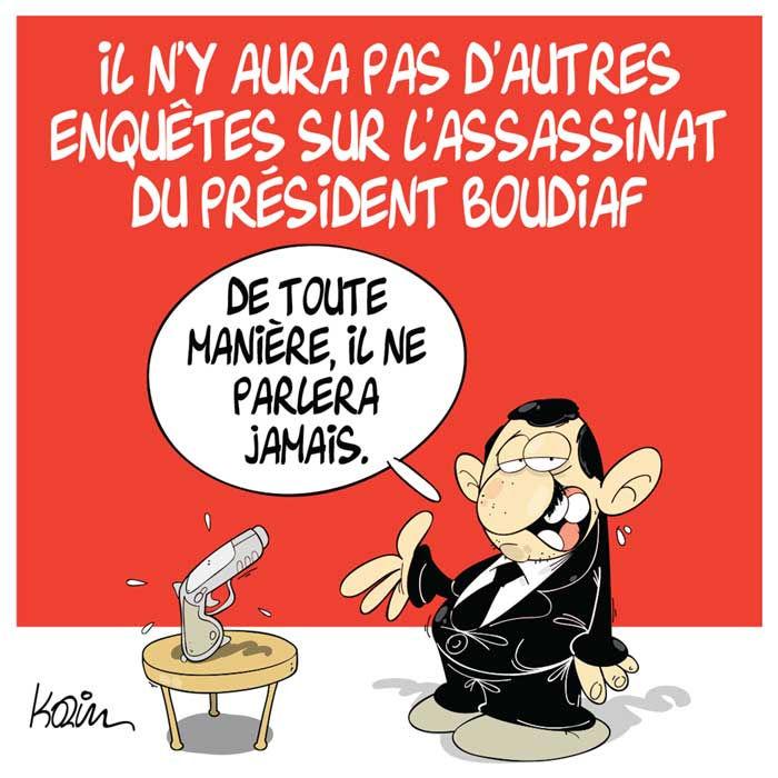 Il n'y aura pas d'autres enquêtes sur l'assassinat du président Boudiaf