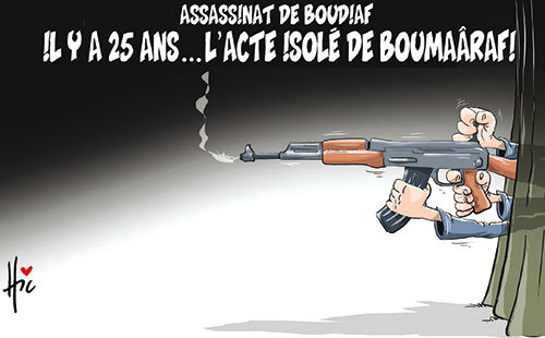 Assassinat de Boudiaf: Il y a 25 ans l'acte isolé de Boumaârafi