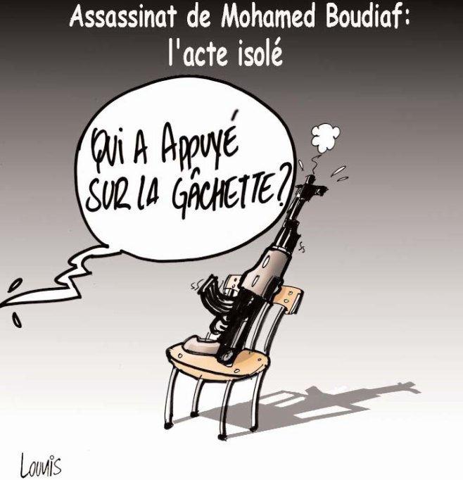 Assassinat de Mohamed Boudiaf: L'acte isolé