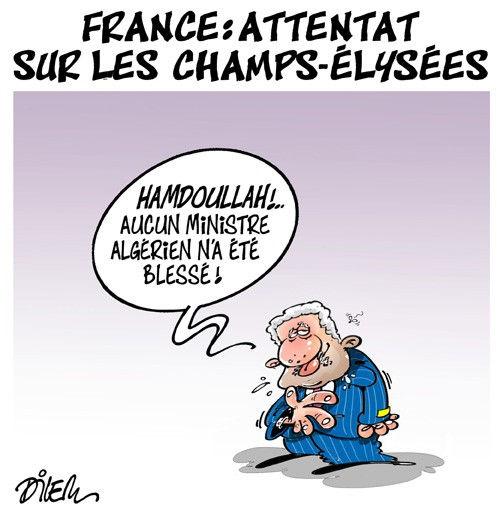 France: Attentat sur les Champs-élysées