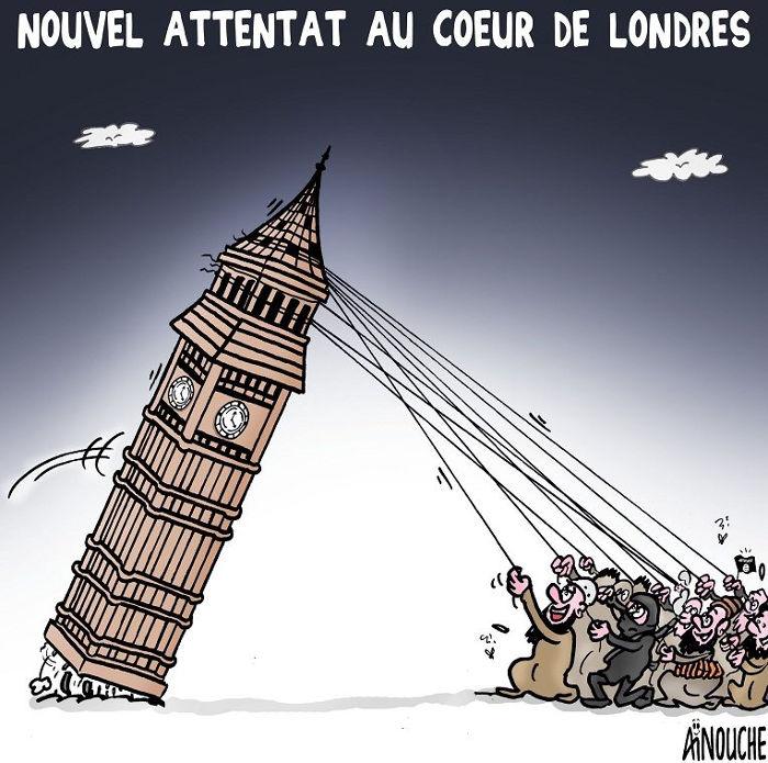 Nouvel attentat au coeur de Londres
