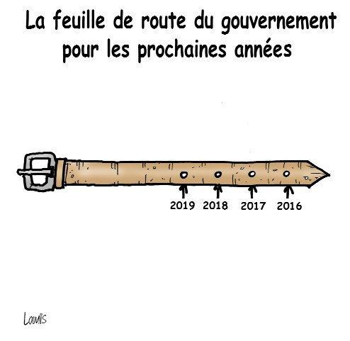 La feuille de route du gouvernement pour les prochaines années