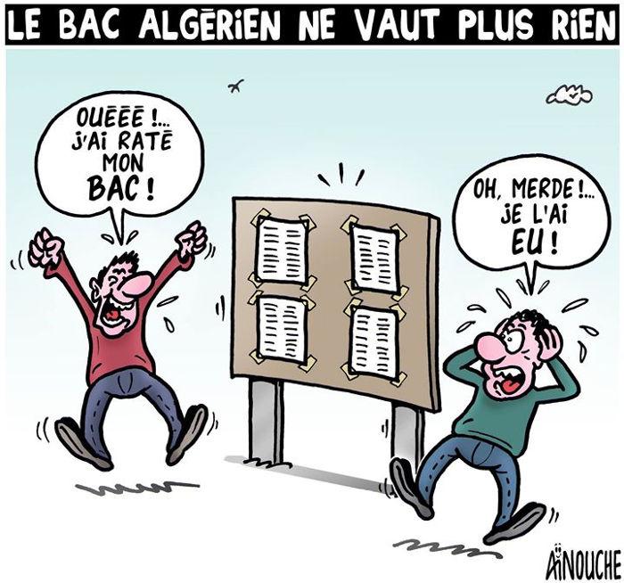 Le bac algérien ne vaut plus rien