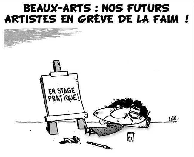 Beaux-arts: Nos futurs artistes en grêve de la faim