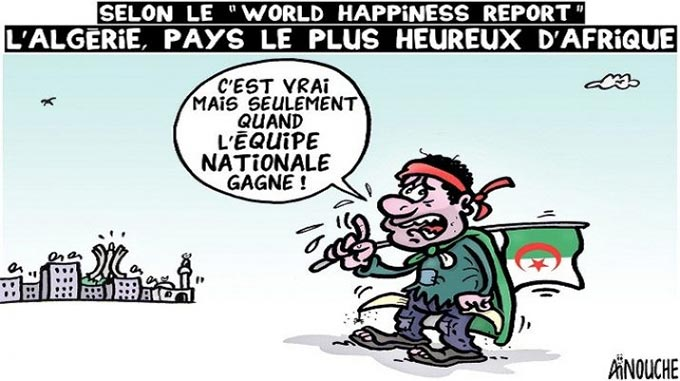 "Selon le ""World Happiness report"": L'Algérie"