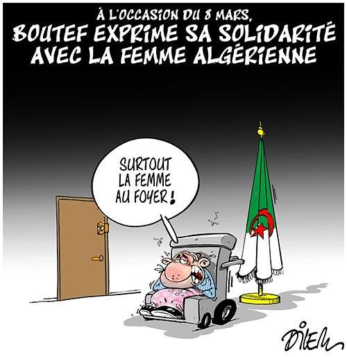 A l'occasion du 8 mars: Boutef exprime sa solidarité avec la femme algérienne