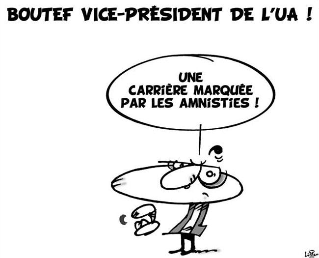 Boutef vice-président de l'UA