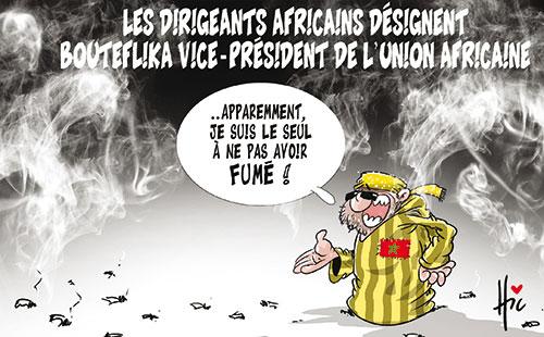 Les dirigeants africains désignent Bouteflika vice-président de l'union africaine
