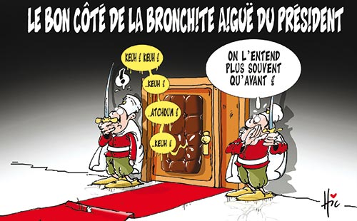 Le bon côté de la bronchite aiguë de Bouteflika
