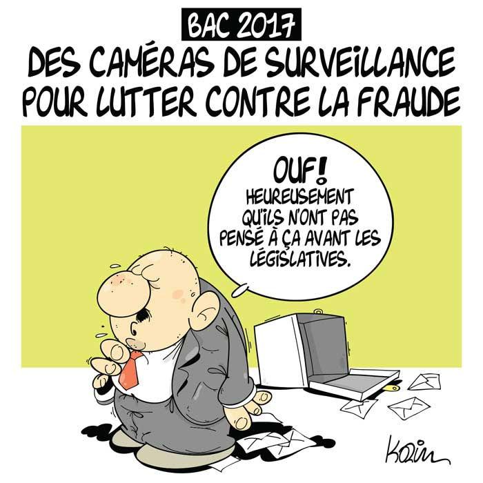 Bac 2017: Des caméras de surveillance pour lutter contre la fraude