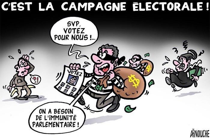 C'est la campagne électorale