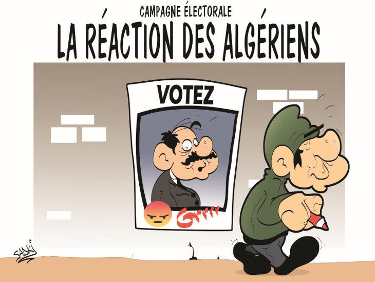 Campagne électorale: La réaction des algériens