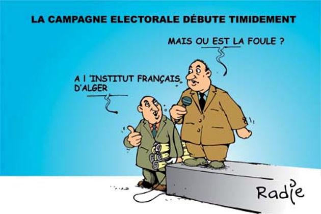 La campagne électorale débute timidement