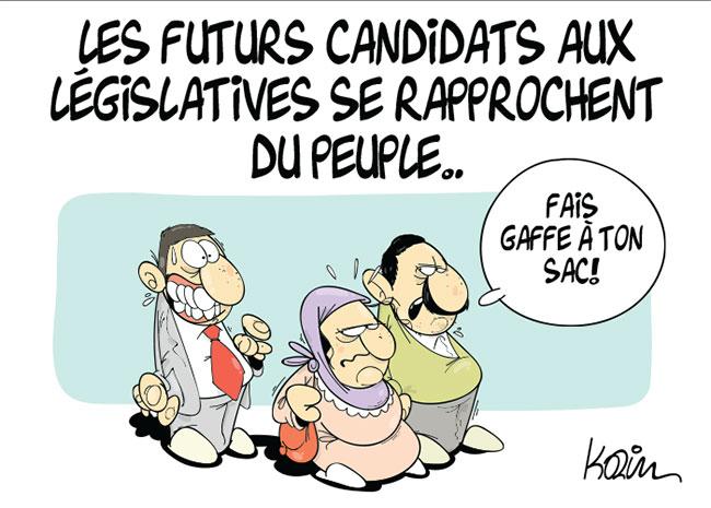 Les futurs candidats aux législatives se rapprochent du peuple