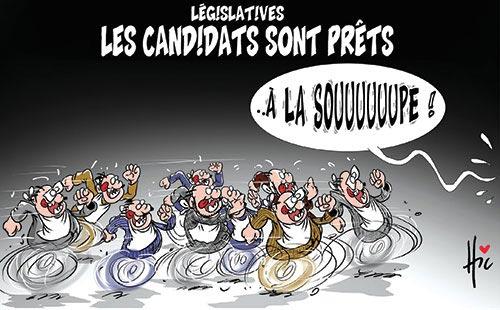 Législatives: Les candidats sont prêts