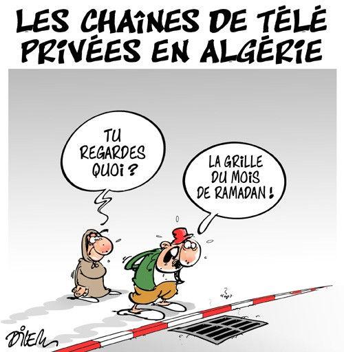 Les chaînes de télé privées en Algérie