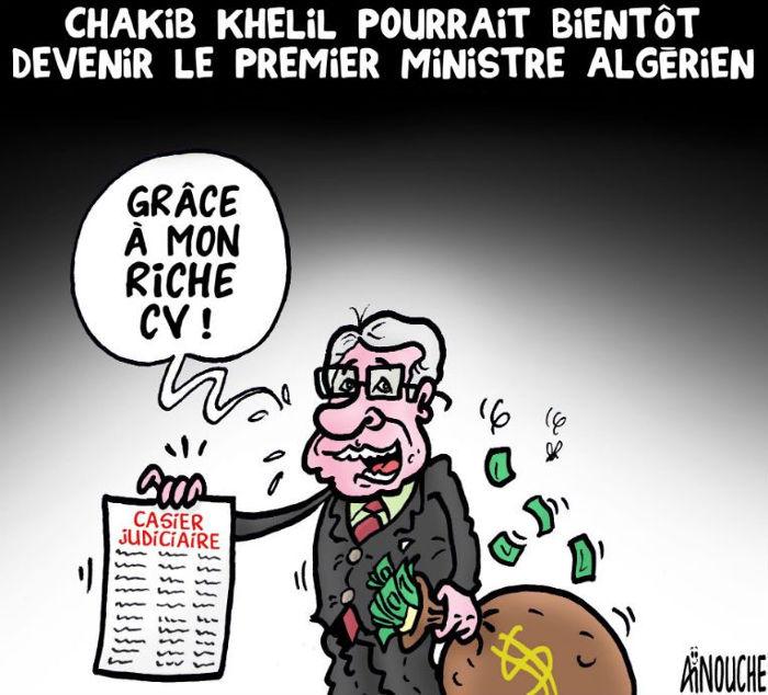 Chakib Khelil pourrait bientôt devenir le premier ministre algérien