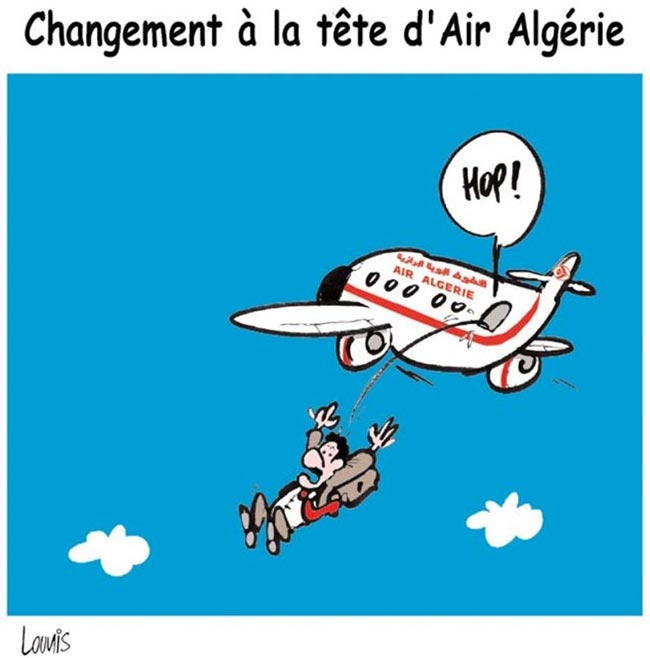CHangement à la tête d'Air Algérie