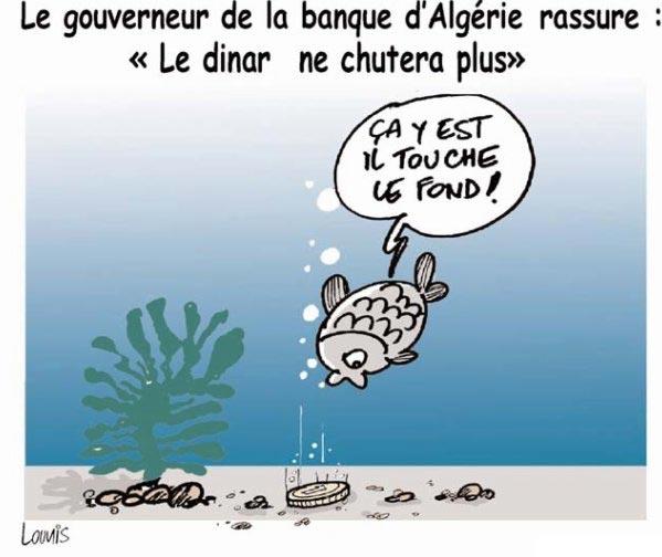 """Le gouverneur de la banque d'Algérie rassure: """"Le dinar ne chutera plus"""""""