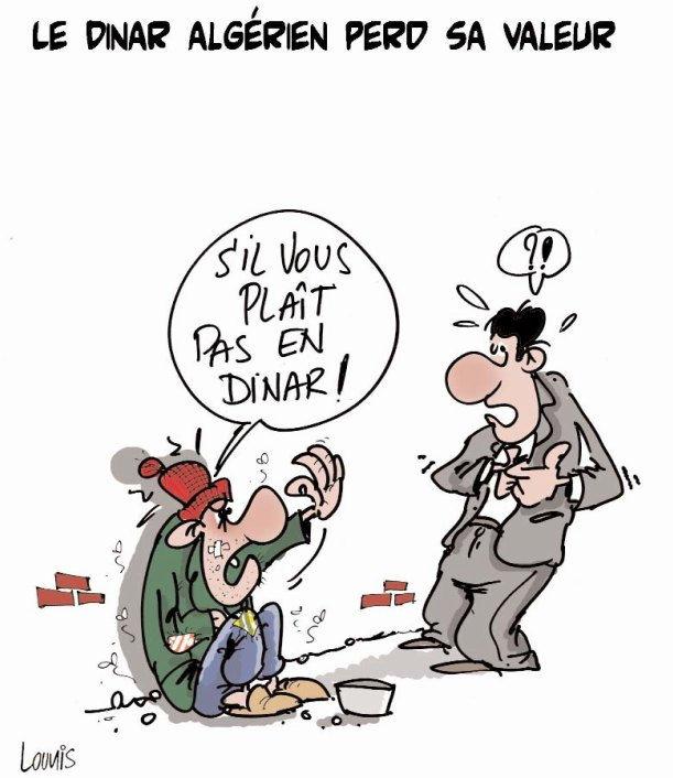 Le dinar algérien perd sa valeur