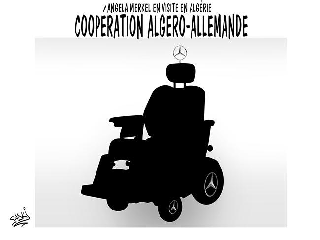 Angela Merkel en visite en Algérie: Coopération algéro-allemande