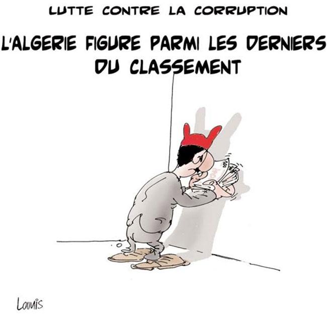 Lutte contre la corruption: L'Algérie figure parmi les derniers du classement