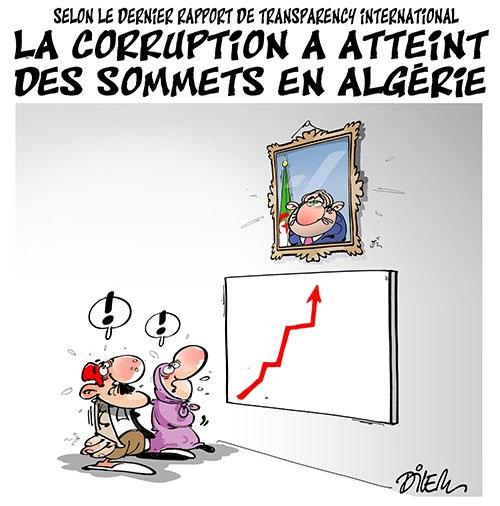 La corruption a atteint des sommets en Algérie