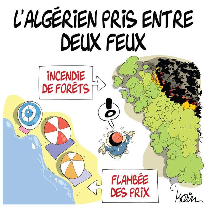 L'algérien pris entre deux feux