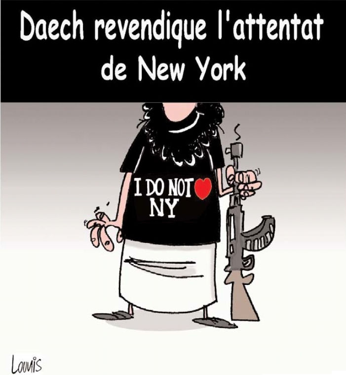 Daech revendique l'attentat de New York