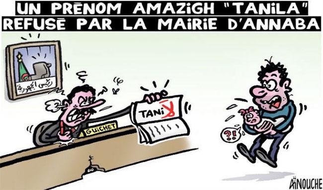 """Un prénom amazigh """"Tanila"""" refusé par la mairie d'Annaba"""