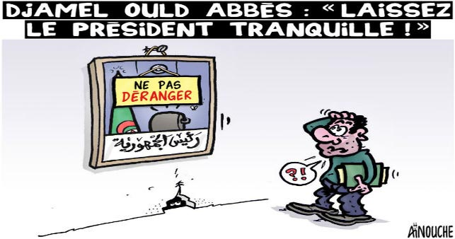 """Djamel Ould Abbès: """"Laissez le président tranquille !"""""""