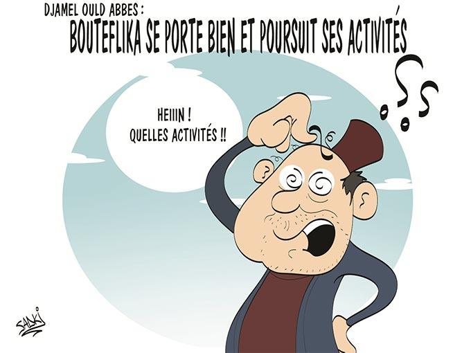 """Djamel Ould Abbès: """"Bouteflika se porte bien et poursuit ses activités"""""""