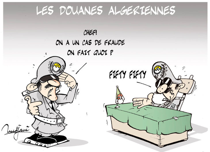 Les douanes algériennes