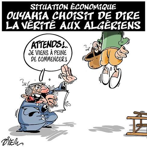Situation économique: Ouyahia choisit de dire la vérité aux algériens