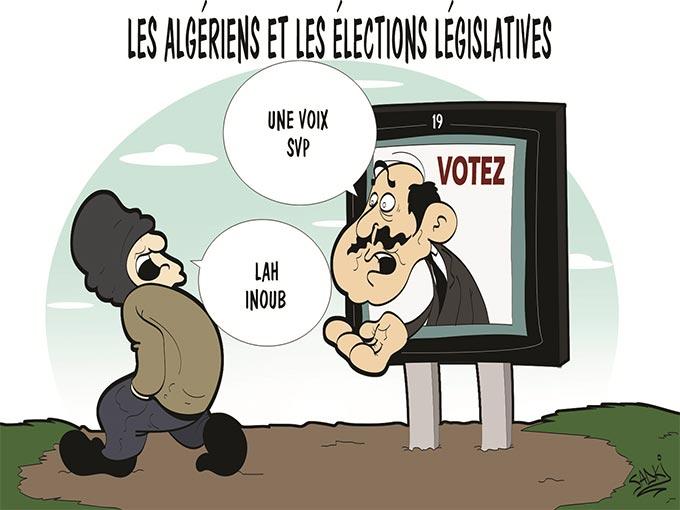 Les Algériens et les élections législatives