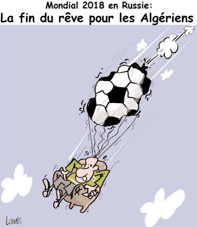 Mondial 2018 en Russie: La fin du rêve pour les algériens