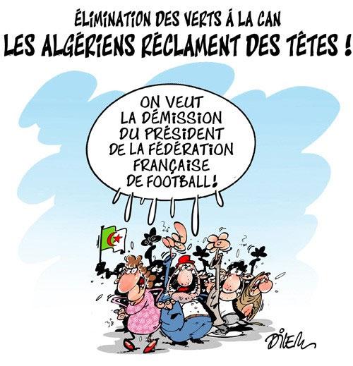 Elimination des verts à la CAN: Les Algériens réclament des têtes