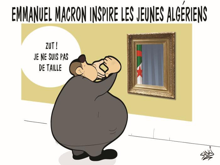 Emmanuel Macron inspire les jeunes algériens