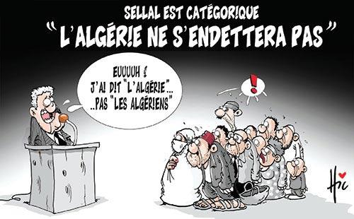 """Sellal est catégorique: """"L'Algérie ne s'endettera pas"""""""